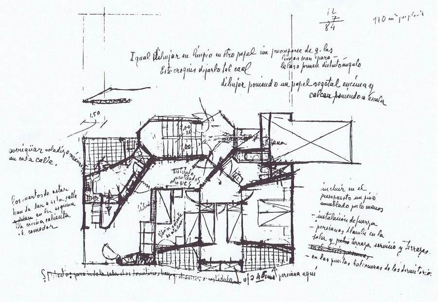 Plano arquitectura a contrapelo for Josep antoni coderch