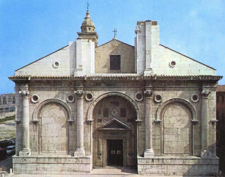 Templo Malatestiano, Rimini, Leon Battista Alberti