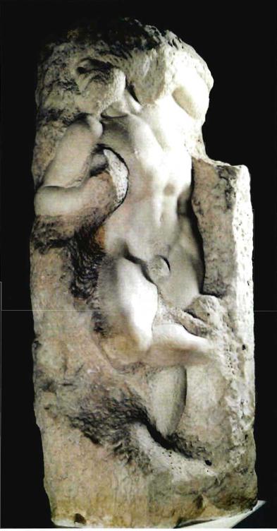 Prisionero o esclavo despertándose. Miguel Ángel Buonarrotti