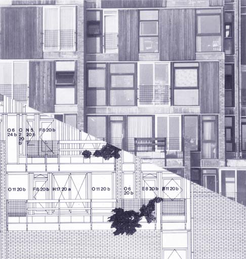 Estudios de fachada, Edificios de la Facultad de Medicina, Universidad de Lovaina, 1969-74