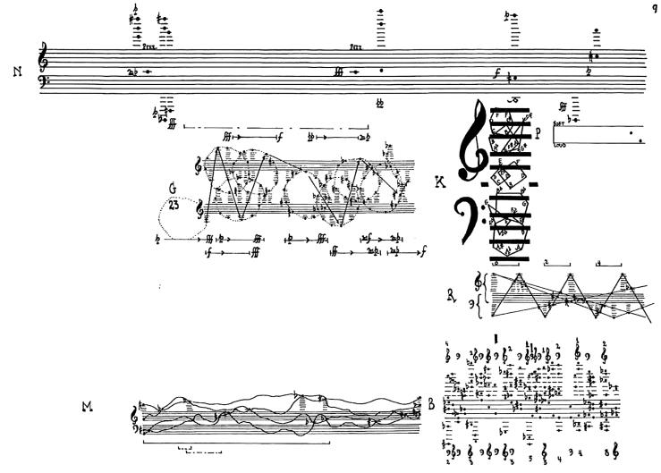 Concierto para piano y orquesta, John Cage, 1957-1958