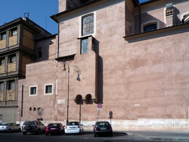 Bernini Capilla Cornaro exterior