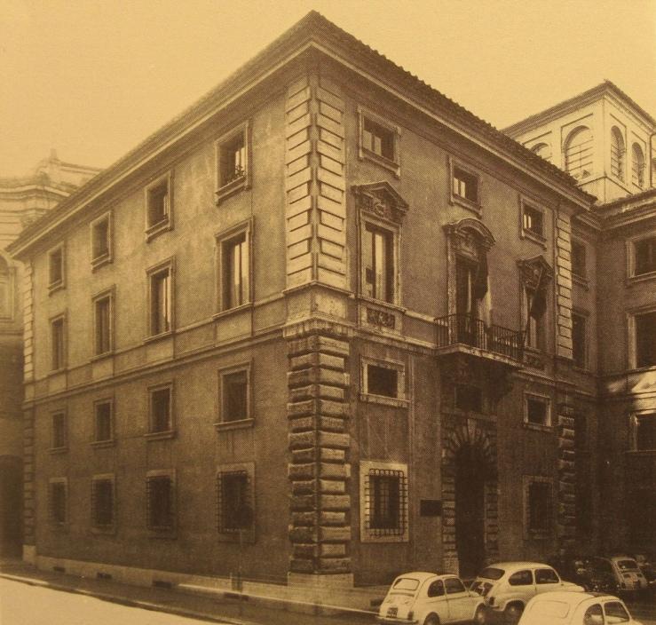 Casa de Flaminio Poncio en Campitelli 1960