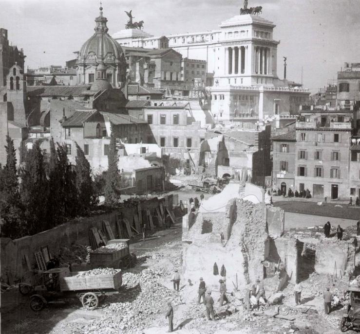 Demolición del Quartiere Alessandrino 1931