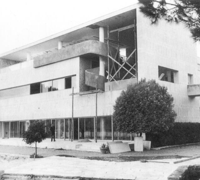 Luccichenti y Monaco Villa Petacci 1938_9 dem 1975 a