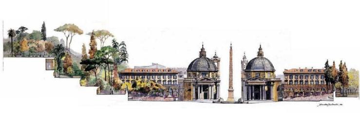 Marcella Morlacchi Piazza del Popolo