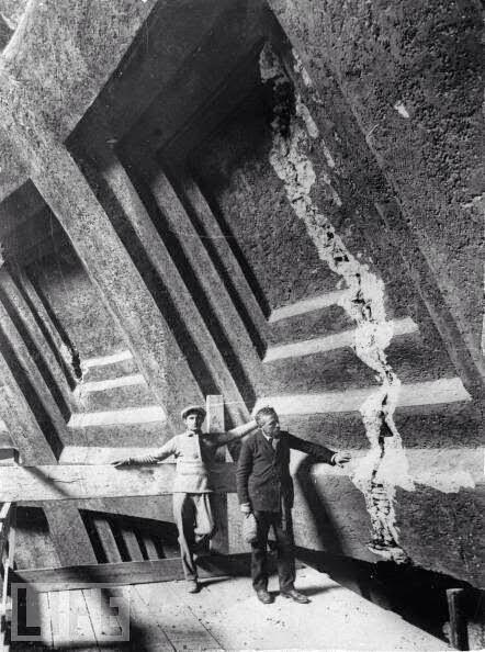 Panteón reparación grietas ha 1925