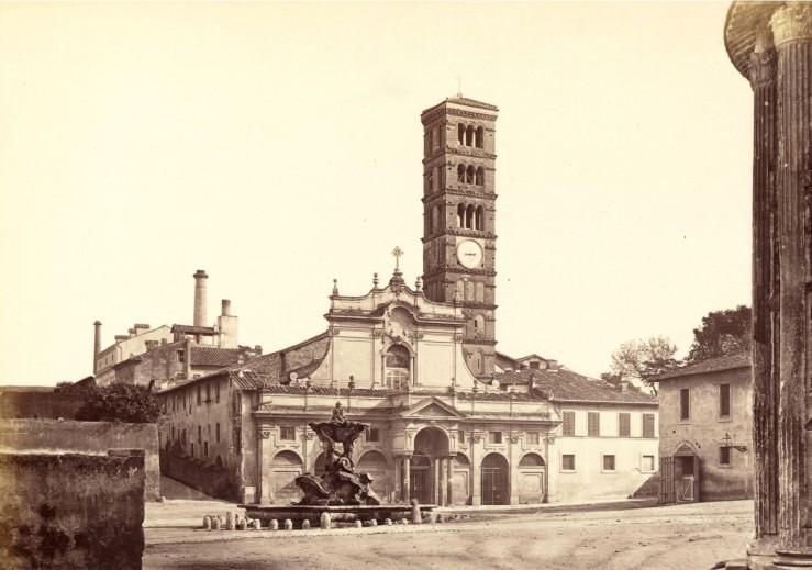 Santa Maria in Cosmedin pre 1899