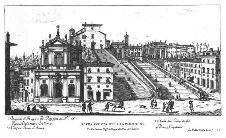 Santa Rita de Casia, GB Falda, 1669