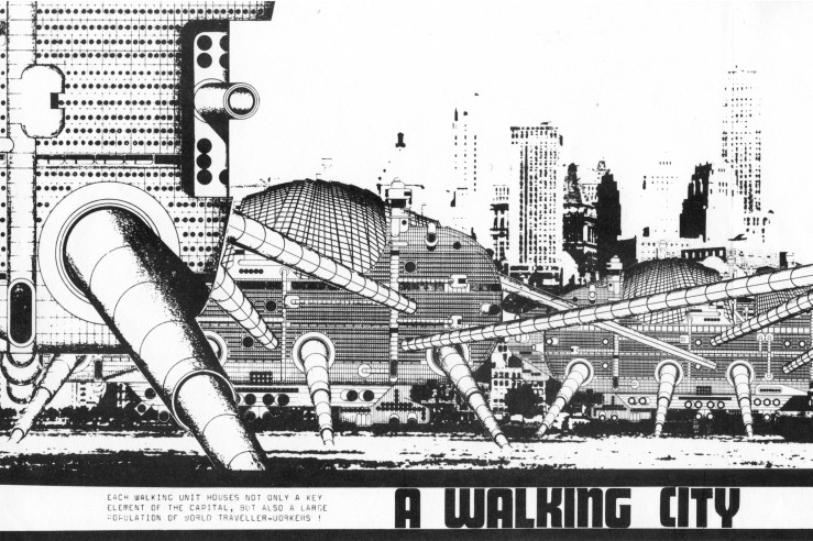 Walking City, Ron Herron, 1964